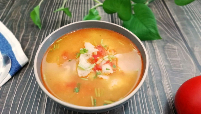 #母亲节,给妈妈做道菜#西红柿龙利鱼汤