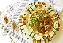 蒜香烤口蘑的做法