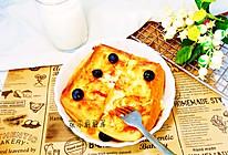 #快手又营养,我家的冬日必备菜品#黄油芝士隔夜厚吐司的做法