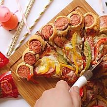 花边火腿披萨-小宝宝们的最爱