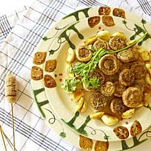 蒜香烤口蘑