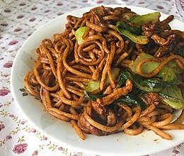 不在上海的上海炒面的做法
