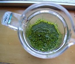自制罗勒青酱的做法