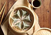 马兰头水晶蒸饺《24节气-春分》蒸箱的做法
