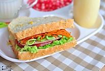 玉米蔬菜三明治#丘比轻食厨艺大赛#的做法