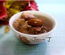 润肺止咳汤——橄榄煲猪肺的做法