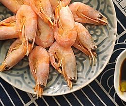 年夜饭白灼北极虾的做法