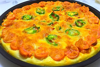 菠萝培根披萨