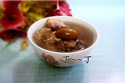 潤肺止咳湯——橄欖煲豬肺