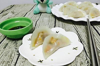 最简单的水晶饺子