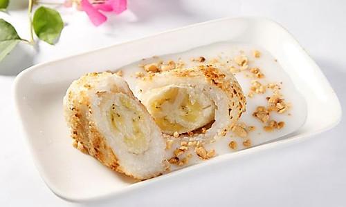 越南小吃——香蕉糯米团的做法
