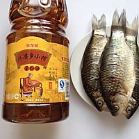 干锅鲫鱼#金龙鱼外婆乡小榨菜籽油#的做法图解1
