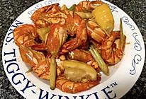 香茅柠檬虾的做法