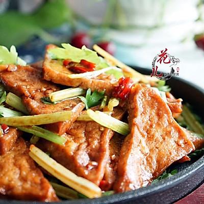 酷暑下饭菜之铁板豆腐