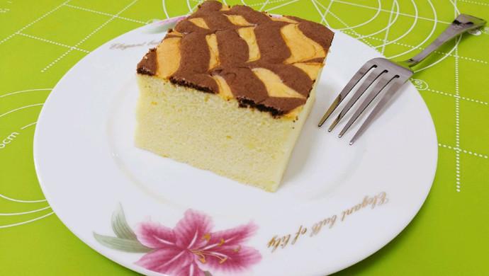 千叶纹古早蛋糕