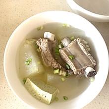 减肥期的排骨冬瓜豆腐汤