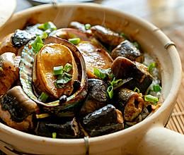 鲍鱼黄鳝白鳝煲仔饭|豪华一餐的做法