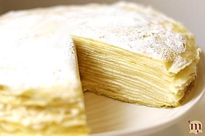 香草原味千层蛋糕/千层可丽饼