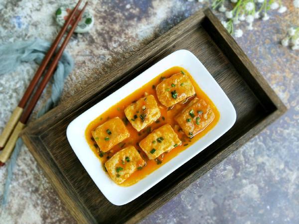 #春季减肥,边吃边瘦#茄汁焖豆腐的做法