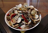 炒文蛤的做法