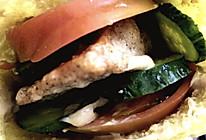 龙利鱼南瓜口袋三明治的做法