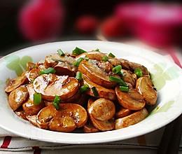 红烧口蘑--简易版的做法