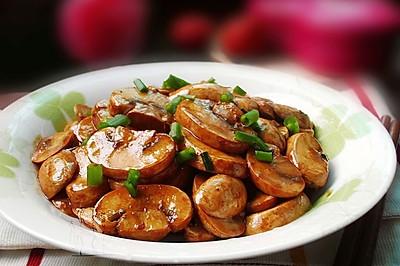 紅燒口蘑--簡易版