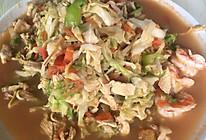 包菜炒鸡肉(减脂餐)的做法