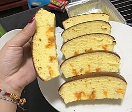 咸蛋黄威风流心蛋糕的做法