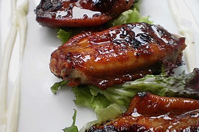酱香烤鸡翅 (利仁侧开时代LR-FD431家用电饼铛-试用)