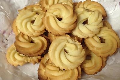 【君之减糖配方】黄油曲奇饼干