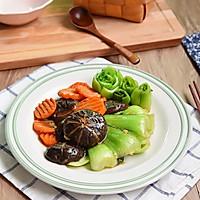 香菇炒青菜#宜家让家更有味#的做法图解12