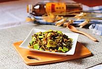 雪菜炒豆瓣#金龙鱼外婆乡小榨菜籽油  我要上春碗#的做法