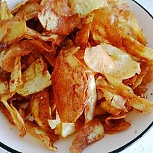 炸薯片(炸土豆片)
