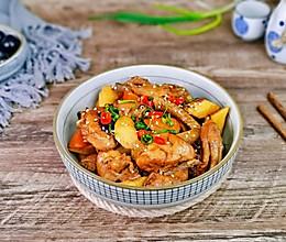 #入秋滋补正当时#山药胡萝卜炖鸡块的做法