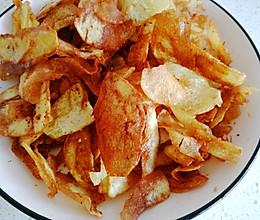 炸薯片(炸土豆片)的做法