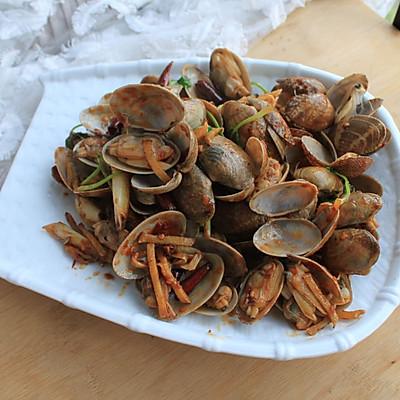 轻松做小海鲜—爆炒花蛤