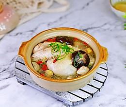 秋冬滋补&板栗松茸鸡汤的做法