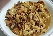 红焖肉炖干豆腐的做法