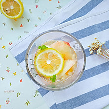 蜜桃柠檬清凉饮