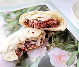 酥到掉渣,满口留香的玫瑰鲜花饼的做法