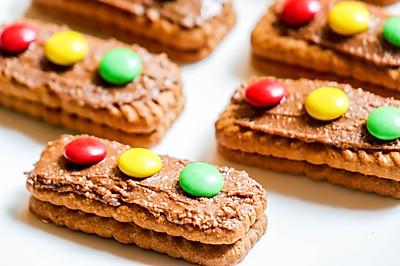 儿童智力开发料理|饼干红绿灯