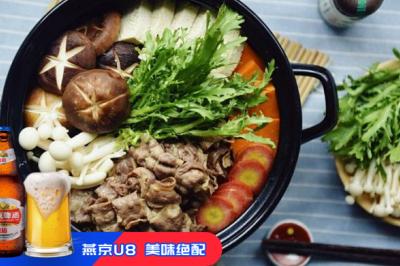 日式肥牛火鍋——壽喜燒
