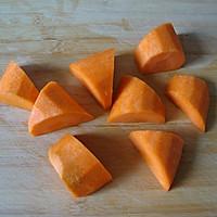 节后清肠进行时:胡萝卜南瓜糙米粥的做法图解1