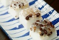椰汁蜜豆西米糕【微体兔菜谱】的做法