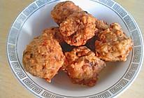 炸香菇肉丸的做法