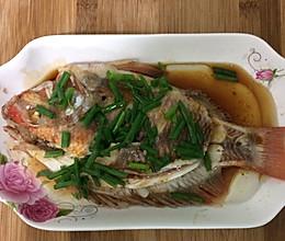 清蒸红鱼的做法