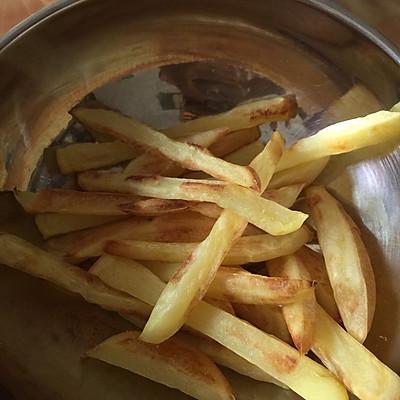 减肥零食:烤箱版无油薯条