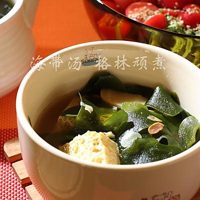 韩式海带豆腐汤