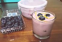 自制蓝莓酸奶的做法